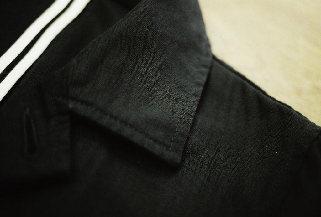 襟にあるネップ